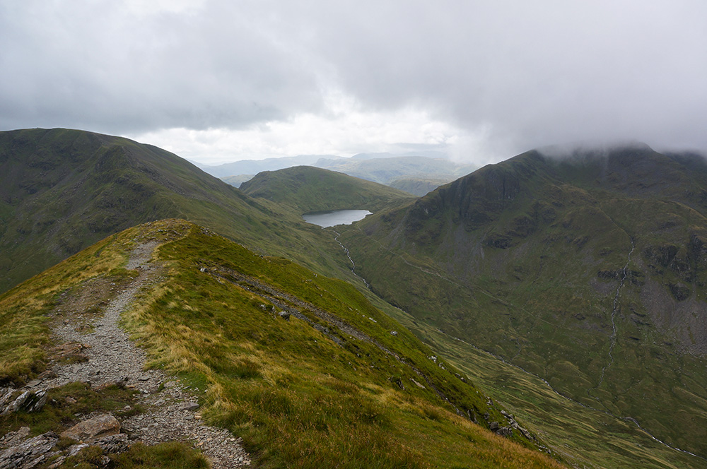 Grisedale Tarn and Seat Sandal