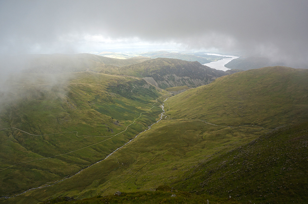 View from Catstycam