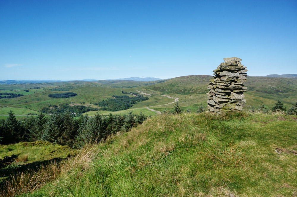 The cairn at Ashstead Fell