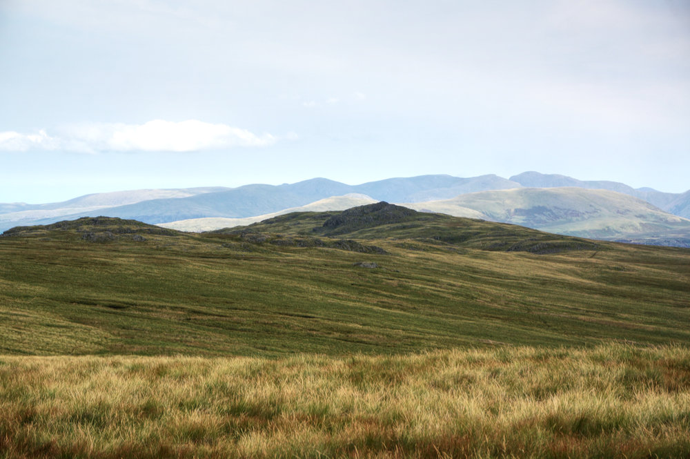 Yoadcastle and the high fells