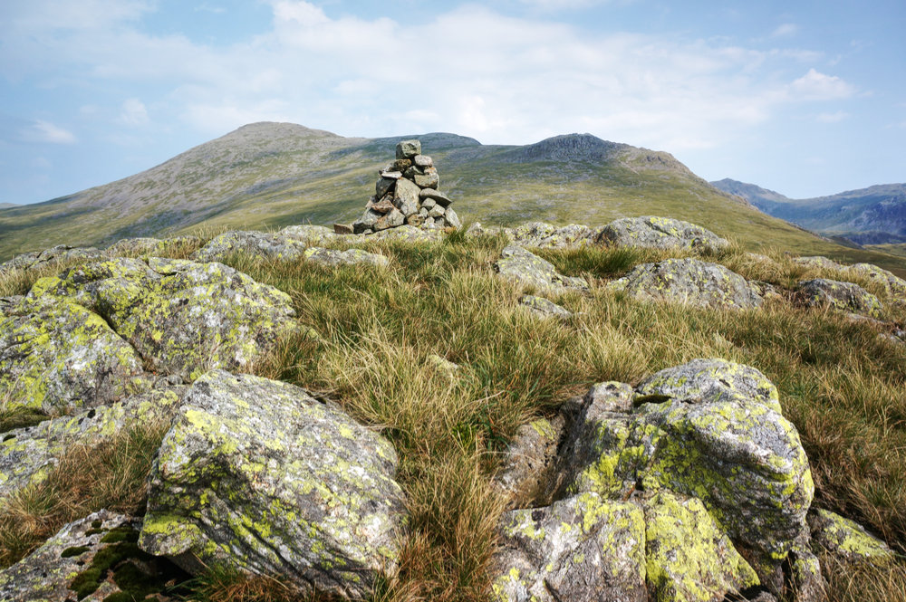 Great How summit cairn