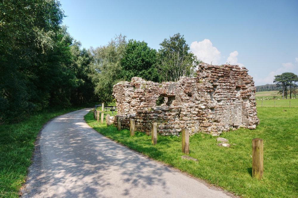 Roman bath house at Ravenglass