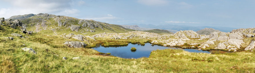 Small tarn at Little Stand